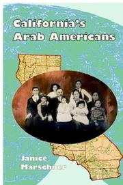 Cover of: California's Arab Americans