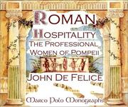 Cover of: Roman Hospitality | John F. Defelice
