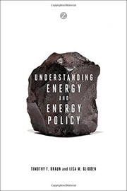 Cover of: Understanding energy and energy policy |