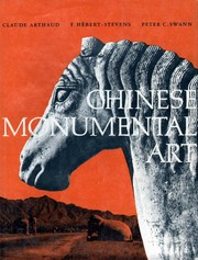 Cover of: Chinese monumental art