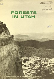 Cover of: Forests in Utah