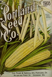 Cover of: Portland Seed Company's complete catalogue