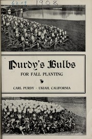 Cover of: Purdy
