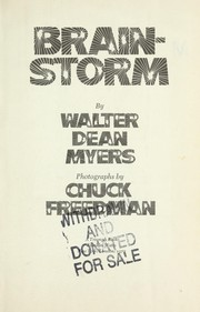 Cover of: Brainstorm | Walter Dean Myers