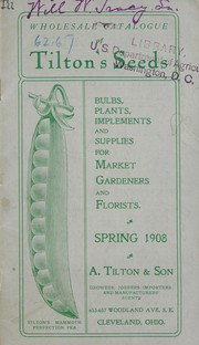 Cover of: Wholesale catalogue of Tilton