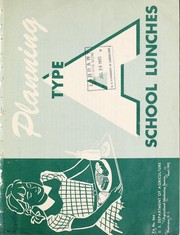 Cover of: Planning type A school lunches