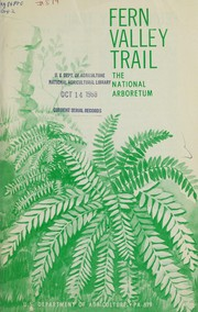 Cover of: Fern Valley trail; the National Arboretum