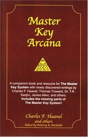 Cover of: Master Key Arcana