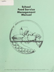 Cover of: School food service management manual. -