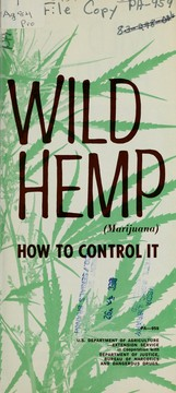 Cover of: Wild hemp (marijuana) | United States. Extension Service