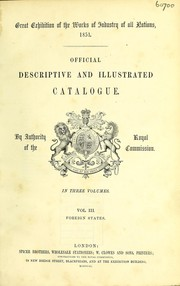 Official descriptive and illustrated catalogue