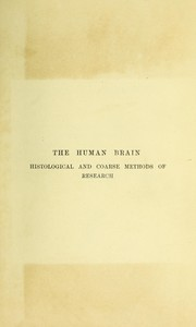 Cover of: The human brain | W. Bevan Lewis