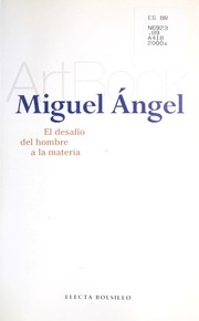 Cover of: Miguel Angel (Artbook)