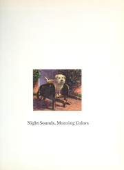 Cover of: Night Sounds, Morning Colors
