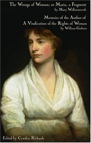 Cover of: The wrongs of woman, or, Maria