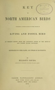 Cover of: Key to North American birds