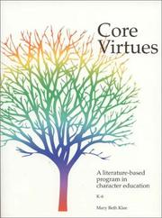 Cover of: Core Virtues  by Mary Beth Klee