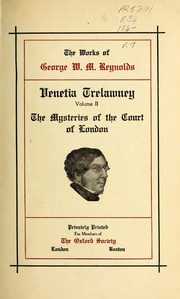 Cover of: The works of George W.M. Reynolds | George W. M. Reynolds