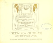 Cover of: Ideen von Olbrich