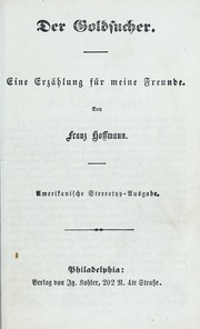 Cover of: Der Goldsucher