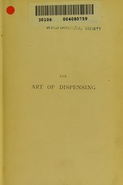 Cover of: The Art of dispensing