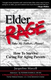 Cover of: Elder rage | Jacqueline Marcell