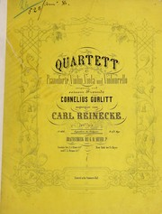 Cover of: Quartett f℗♭¡Łr Pianoforte, Violin, Viola und Violoncello, 34tes Werk