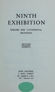 Cover of: Ninth exhibition | John Manning (Firm)