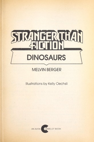 Stranger than fiction by Melvin Berger
