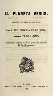 Cover of: El planeta Venus