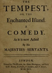 The tempest; or, The enchanted island by John Dryden