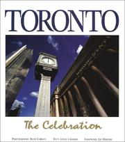 Cover of: Toronto | Rudi Christl