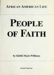 Cover of: People of faith