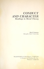 Cover of: Conduct and Character | Mark Timmons