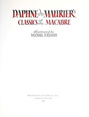 Cover of: Daphne du Maurier's classics of the macabre