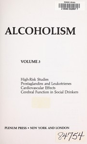 Cover of: Recent Developments in Alcoholism | Marc Galanter