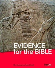 Cover of: Evidence for the Bible