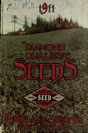 "Cover of: ""Diamond quality"" seeds"