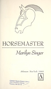 Cover of: Horsemaster