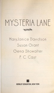 Cover of: Mysteria Lane