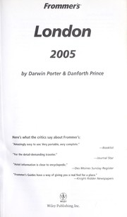 Cover of: Frommer's London 2005