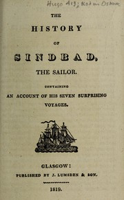 Cover of: The history of Sindbad, the sailor