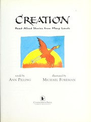 Cover of: Creation | Ann Pilling