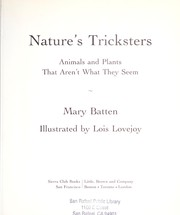 Cover of: Nature's tricksters