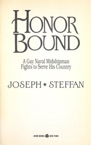Cover of: Honor Bound | Joseph Steffan