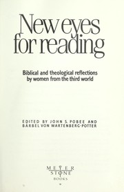 Cover of: New Eyes for Reading