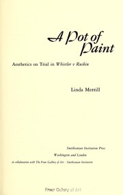 Cover of: A pot of paint
