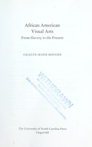 Cover of: African American visual arts | Celeste-Marie Bernier
