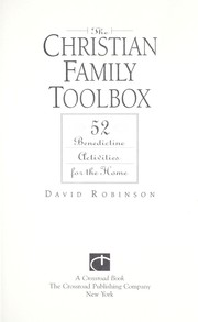 Cover of: The Christian family toolbox