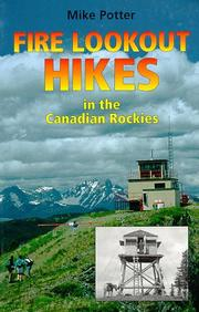 Cover of: Fire Lookout Hikes in the Canadian Rockies